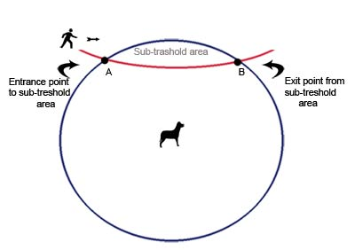 dog sub threshold zone